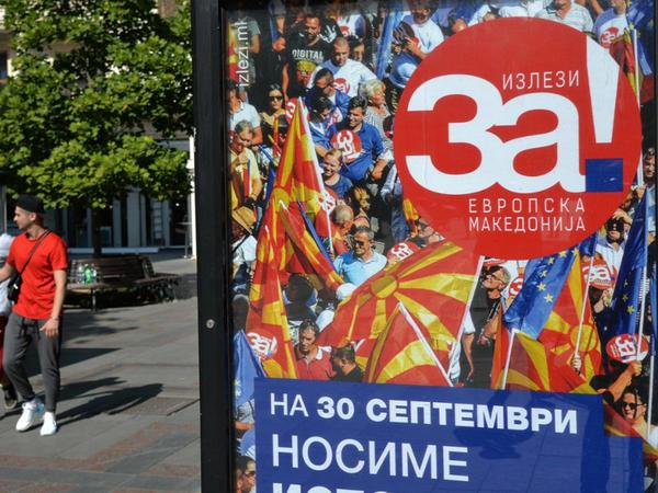 Makedoniya parlamenti ölkənin adını dəyişməyə razılıq verib