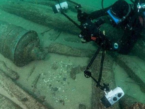 400 il bundan əvvəl batmış gəmi aşkar edilib
