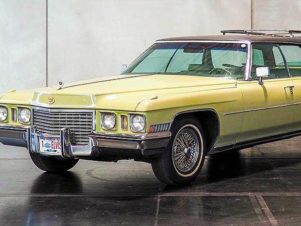 """Elvis Preslinin nadir """"Cadillac"""" avtomobili hərracda gözlənilmədən <span class=""""color_red"""">ucuz qiymətə satıldı</span>"""