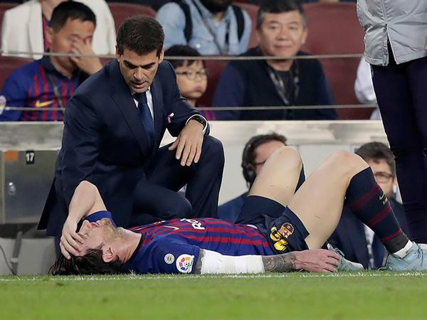 """Messi qolu qırıldığı üçün """"Real"""" və """"İnter""""lə oyunları buraxacaq - <span class=""""color_red"""">VİDEO - FOTO</span>"""