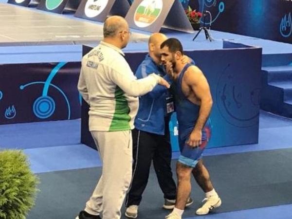 Cəbrayıl Həsənov finalda, Hacı Əliyevdən uğursuz start - dünya çempionatı