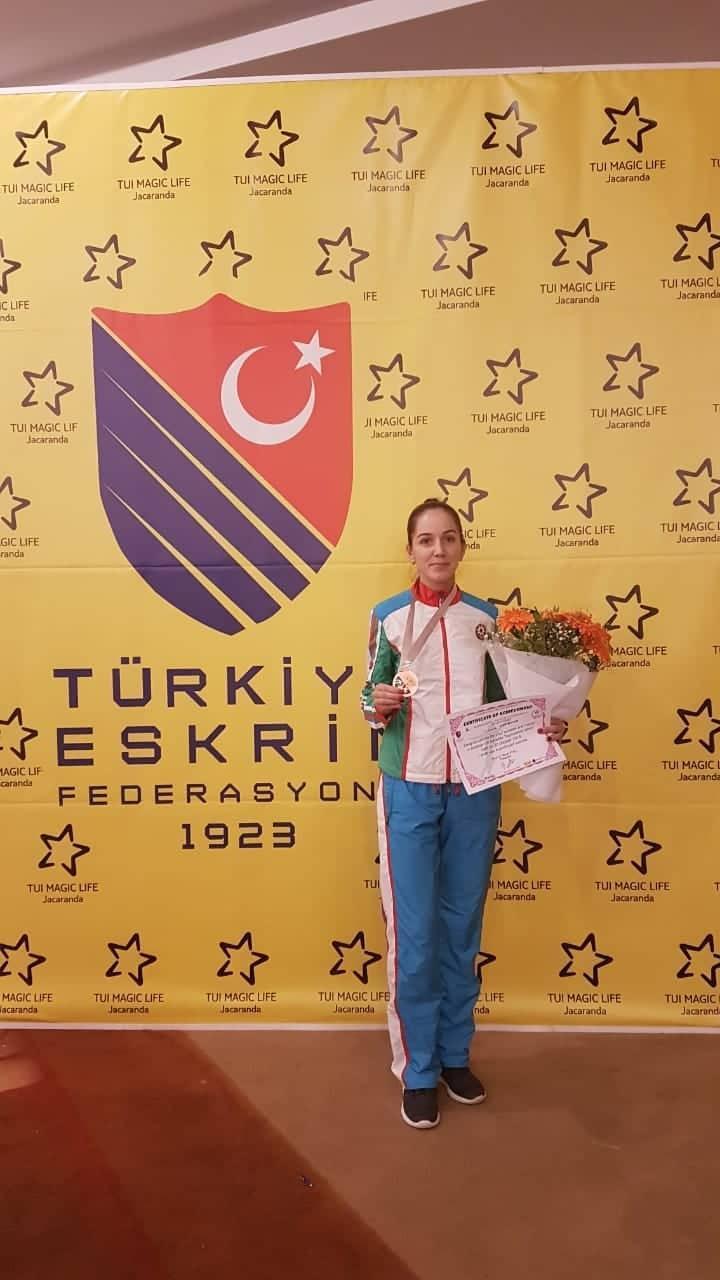 İdmançımız beynəlxalq turnirdə bürünc medal qazandı -