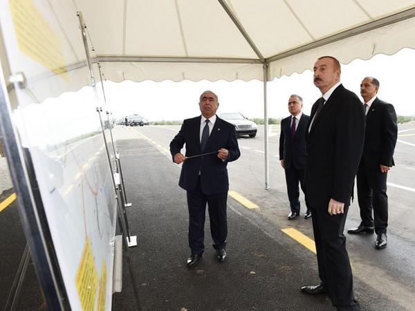 Prezident İlham Əliyevin İmişli rayonuna səfəri - YENİLƏNİB - FOTO
