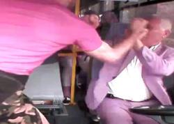 """Sərnişin avtobusu saxlamadığı üçün sürücünü döydü - <span class=""""color_red"""">Hadisənin anbaan VİDEOsu - FOTO</span>"""
