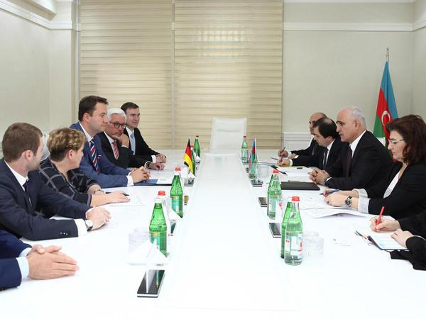 Azərbaycan-Almaniya iqtisadi əlaqələri müzakirə edilib