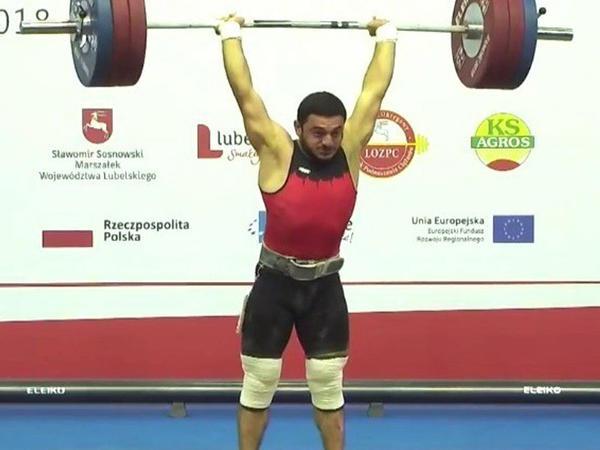 Paşa İbrahimli Avropa çempionatında gümüş medal qazanıb - FOTO