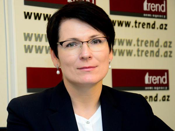 """Lina Vaytkyaviçene: """"Azərbaycan transmilli informasiya agentliyi yaratmaqla bütün regionu qabaqlayıb"""""""