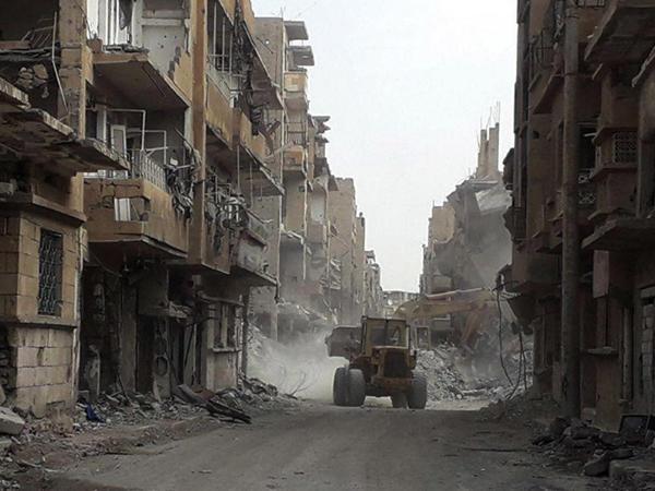 Suriyada yaşayış məntəqəsi bombalandı