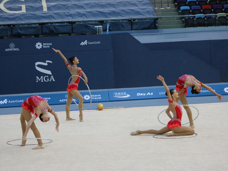 Bədii gimnastika üzrə 25-ci Bakı çempionatı start götürdü