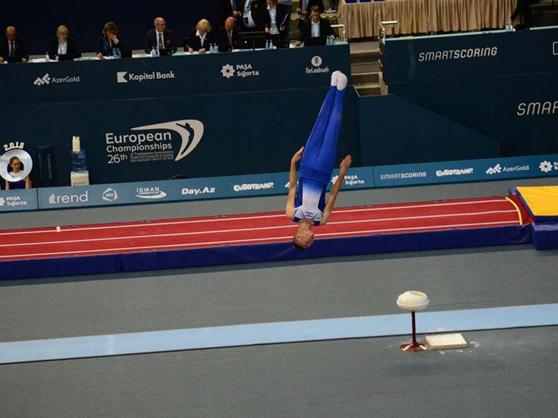 Gimnastımız dünya çempionatında 194 idmançı arasında 7-ci oldu