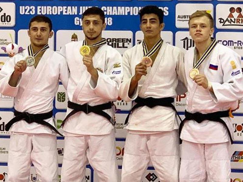 Cüdoçumuz Avropa çempionatında bürünc medal qazandı