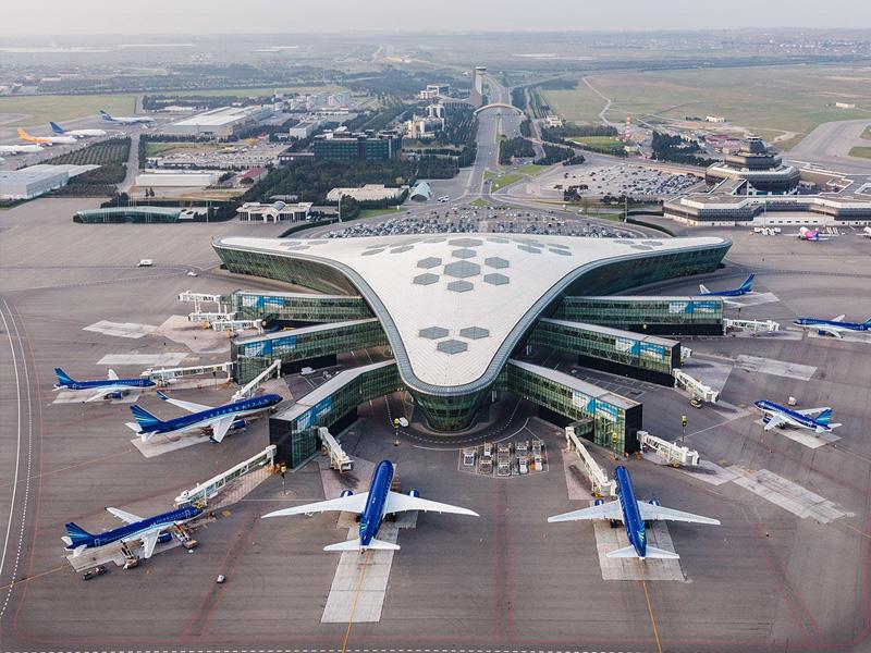 Heydər Əliyev Beynəlxalq Hava limanı dünyanın 3 ən qeyri-adi aeroportları sırasına daxil olub