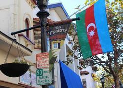 ABŞ-ın Monterey şəhəri Azərbaycan bayraqlarına büründü - FOTO - VİDEO