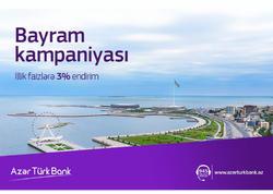 Azər Türk Bank  Bayraq günü münasibətilə yeni kampaniyaya başladı