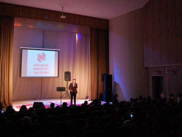 """Mədəniyyət evində konsert keçirildi - <span class=""""color_red"""">İzzət Bağırov...</span>"""