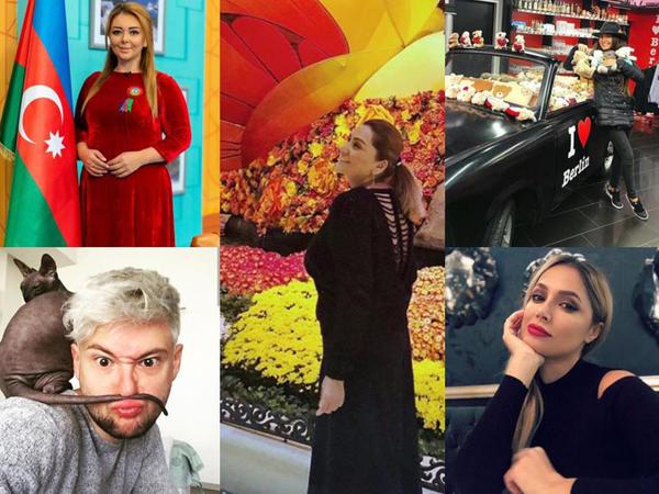 "Azərbaycan şou-biznesi İnstagramda - <span class=""color_red"">FOTO</span>"