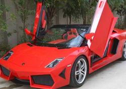 "5 qardaş birləşib ""Lamborghini"" istehsal etdi - VİDEO - FOTO"