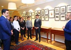 Mir Cəlal Paşayevin ev müzeyi ziyarət edilib - FOTO