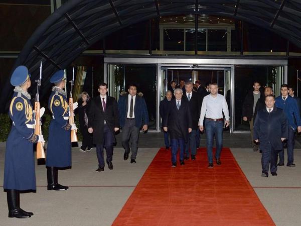 Slovakiya Baş nazirinin Azərbaycana rəsmi səfəri başa çatıb