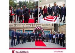 Kapital Bank yeni Neftçilər Kart Mərkəzi filialını istifadəyə verdi
