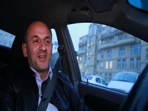 """Taksi sürücüsü: """"Mahnı oxumağım müştəriləri narahat etmir"""" - VİDEO"""