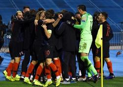 UEFA Millətlər Liqası: Xorvatiya İspaniyaya qalib gəldi, Prosineçkinin komandası növbəti mərhələdə
