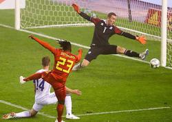 """""""Qarabağ""""ın qapıçısı Belçikaya qarşı 90 dəqiqə oynadı - <span class=""""color_red"""">VİDEO - FOTO</span>"""