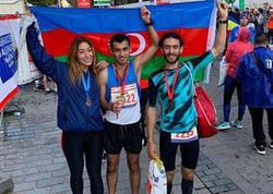 Azərbaycan idmançısı Asiyadan Avropaya qaçaraq rekorda imza atıb - FOTO