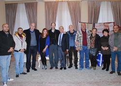 Gürcüstanın teatr xadimləri Sumqayıt Dövlət Dram Teatrında