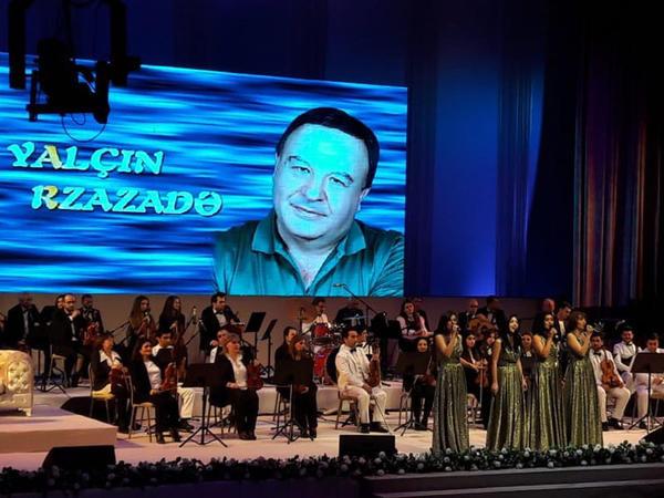 Yalçın Rzazadənin yaradıcılığının 50 illiyinə həsr olunmuş konsertdən - FOTO