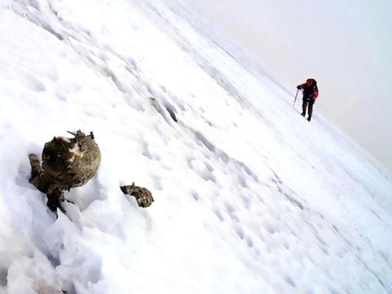 Yoxa çıxan alpinistlərin cəsədi bu halda tapılıb - FOTO
