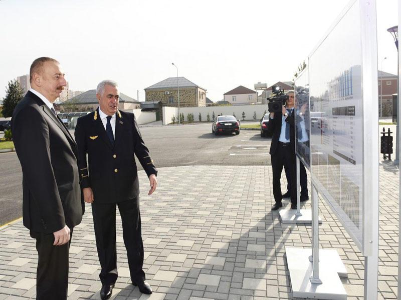 Prezident İlham Əliyev Sumqayıt şəhərinə səfər edib -  FOTO