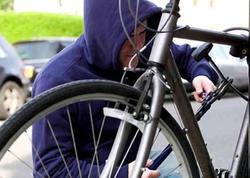Bakıda velosiped oğurlayan şəxs saxlanıldı