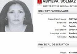 """Solmaz Əbiyevanı Pakistan polisi yaxaladı - <span class=""""color_red"""">Azərbaycan İnterpola vermişdi...</span>"""