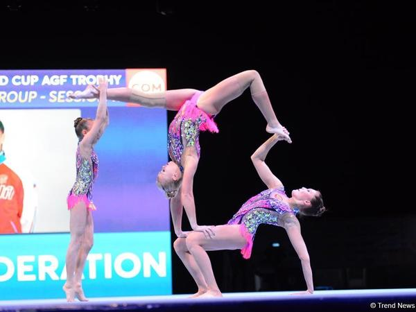 "Akrobatika gimnastikası üzrə Dünya Kubokunun finalları start götürüb - <span class=""color_red"">FOTO</span>"