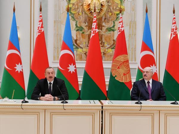 Prezident İlham Əliyevin Belarusa rəsmi səfəri - YENİLƏNİB - FOTO