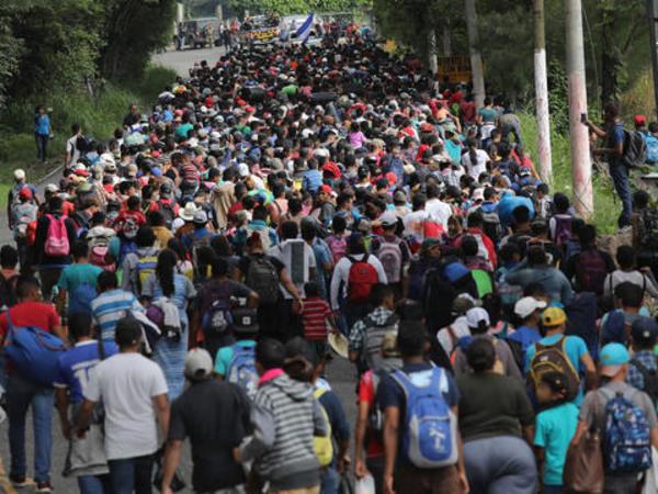 Salvadordan ABŞ-a miqrant karvanı yola düşüb