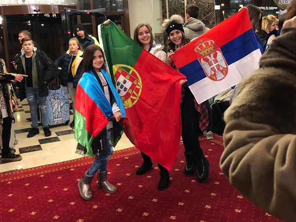 """Eurovision"" üçün Belarusa getdi - <span class=""color_red"">FOTO</span>"