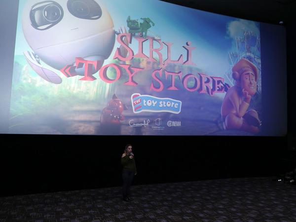 """Sirli Toy Store"" cizgi filminin nümayişi keçirildi - <span class=""color_red"">VİDEO</span>"