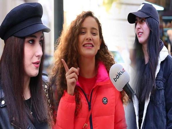 """Bilmirsən, qızdır, ya oğlan: Azərbaycan kişilərində nəyi bəyənmirsiniz? - <span class=""""color_red"""">VİDEOSORĞU</span>"""