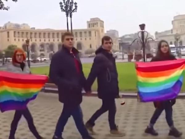"""Ermənistanda cinsi azlıqların festivalı keçirilir - <span class=""""color_red"""">VİDEO</span>"""