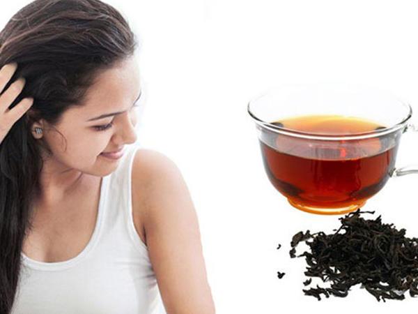 Saçınızı yuduqdan sonra çayla yaxalayın ki ...