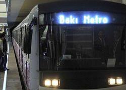 """Bakı metrosunda hadisə: <span class=""""color_red"""">maşinist son anda xilas edilib</span>"""