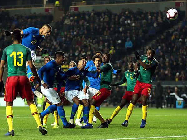 Braziliya Kameruna qalib gəldi - VİDEO - FOTO