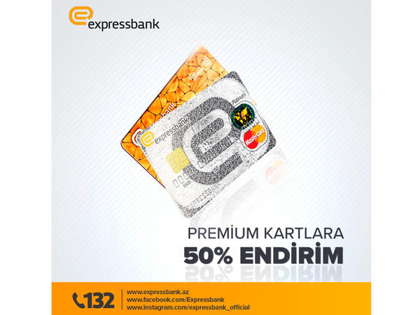 Expressbank-dan 50% Black Friday endirimi!