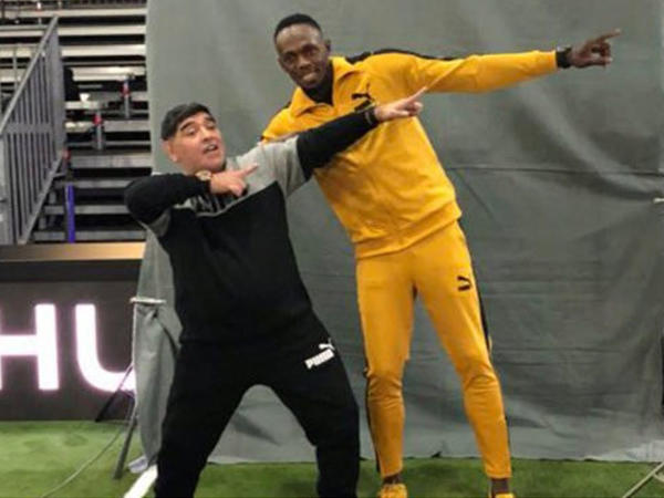Useyn Bolt Maradonanın komandasına transfer ola bilər
