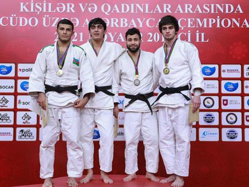 Cüdo üzrə Azərbaycan çempionatı başa çatdı