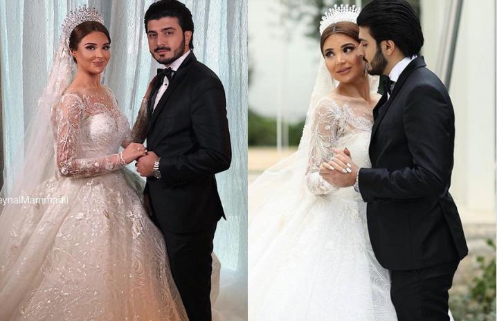 """""""Vicdan haqqı""""nın məşhur cütlüyü evləndi - VİDEO - FOTOLARI"""