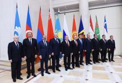 Prezident İlham Əliyevin Rusiyaya işgüzar səfəri - FOTO