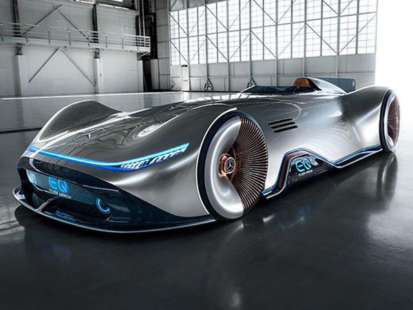 Mercedes 750-güclü elektrik superkar hazırlayıb - FOTO